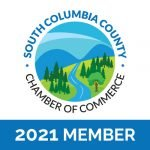 south columbia county chamber of commerce 2021 member badge